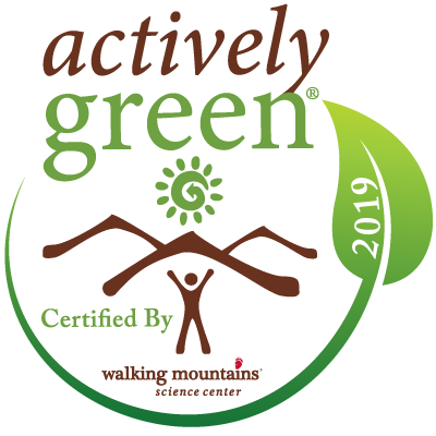 Actively Green Certified Business Logo