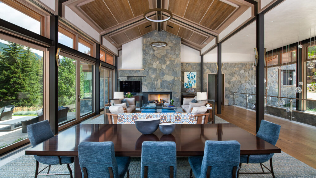 West Vail Residence Contemporary Architecture Vail