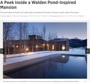 Walden Vail Beaver Creek Magazine Edwards Colorado