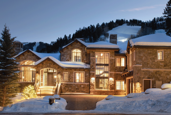 Maroon Creek Club Residence 1 Aspen Colorado front elevation