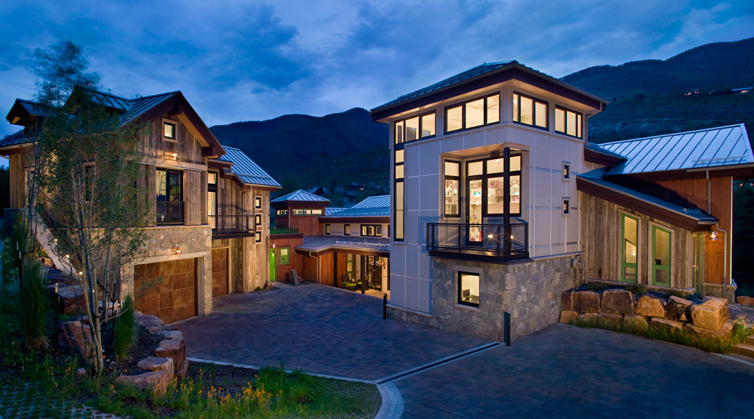 Luxury Custom Home by Shaeffer Hyde Construction Vail Valley Builder