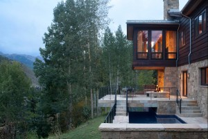 Vail Residence Shaeffer Hyde Mountain Home Builder. KH Webb Vail Architect Interior Design Rinfret LTD