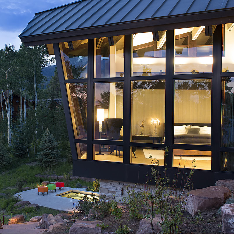 Rocky Mountain Builder Mountain Contemporary Mountain Star Home Avon Colorado